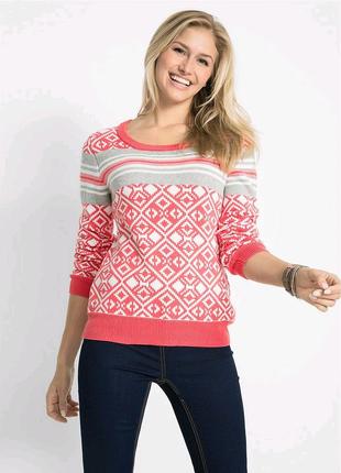 Новый Коллекционный Пуловер, оригинальный свитер, батал