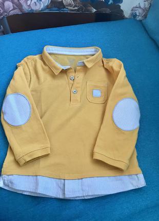 Кофта нарядная рубашка на мальчика