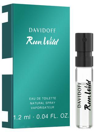 Пробник Run Wild туалетная вода 1.2 мл Davidoff