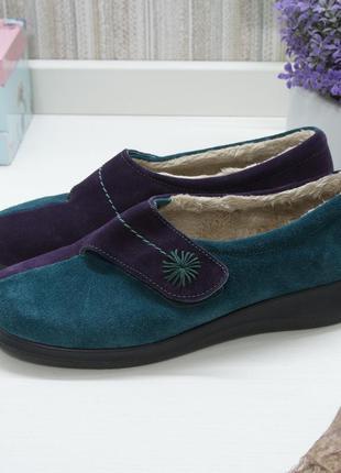 Туфли, тапочки, hotter, натуральная кожа
