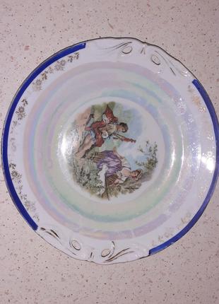 Антиквариат, старинная чешская посуда.