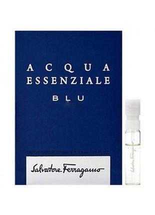 Salvatore Ferragamo Acqua Essenziale Blu Туалетная вода (пробник)