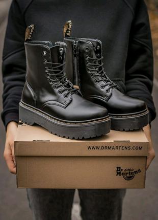 Женские кожаные демисезонные ботинки dr.Martens Jadon