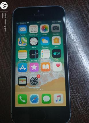 IPhone 5S A1533 16ГБ LTE оригинал из США Неверлок ID (icloud)чист