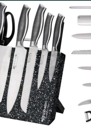 Набор ножей Edenberg EB-3614 на магнитной подставке