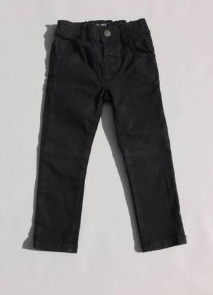 Next. чиносы, джинсы с утяжкой. 92 размер. чёрные.
