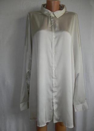 Блуза рубашка очень большого размера