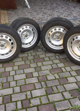 Диски з резиною Skoda Audi VW Passat 205/55/16