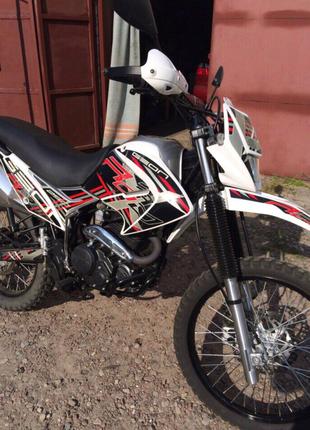 Мотоцикл кросс ендуро geon 250