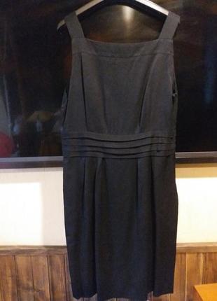 Сарафан платье черное офисное