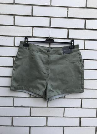 Новые джинсовые шорты,хаки,большой размер, papaya