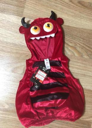 Карнавальный костюм на хэллоуин до года