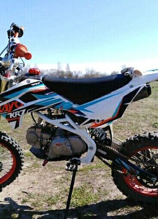 Мотоцикл питбайк 125 kayo кросс ендуро
