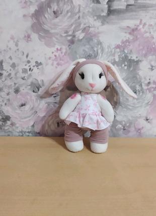 Зайка подарок девушке девочке дочке день рождения новый ребёнку