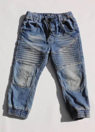 Next. джинсы трикотажные, джоггеры. 92 размер.