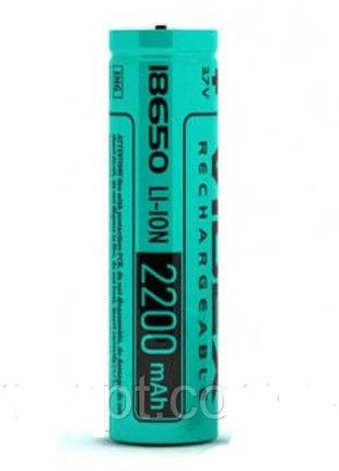 Аккумулятор Videx Li-Ion 18650 2200mAh (без защиты)