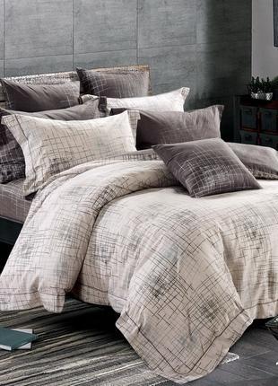 Двухспальный комплект постельного белья № 19010