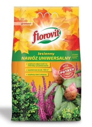 Florovit универсальное осеннее, 3 КГ