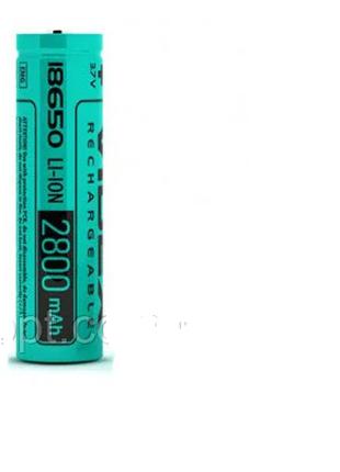 Аккумулятор Videx Li-Ion 18650 2800mAh (без защиты)