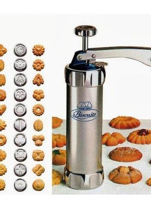 Пресс для печенья Cookie Maker Нержавеющая сталь (есть опт)