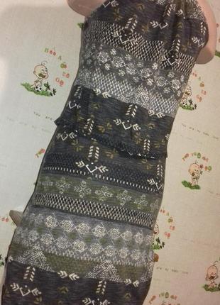 Платье 2 в 1 длинное, в пол, макси.