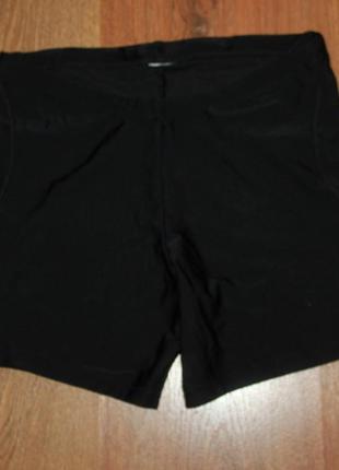 Черные шорты для спорта бега йоги kalenji 34р.