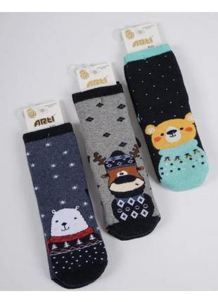 Махровые носки для девочек 3-8 лет, турция арти