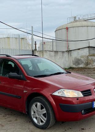 Renault Megane 2005р БЕЗ ПІДКРАСІВ.  Розмитена !!