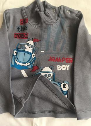 Новый детский худи с начесом для мальчиков