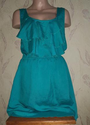 Лёгкое, невесомое платье с рюшами
