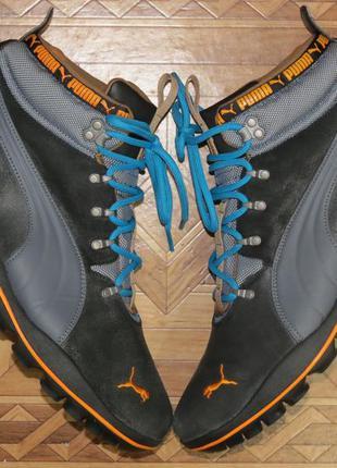Зимние ботинки кроссовки puma storm cell(оригинал)р.45-46