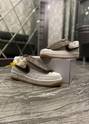 Кроссовки Nike Air Force 1 Low x Louis Vuitton.