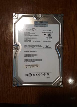 Винчестер Seagate 250 GB