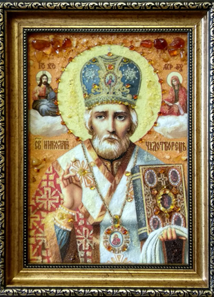 Ікона Святого Миколая 20*30см