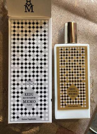 Memo kedu парфюмированная вода, тестер, фото, 75 мл