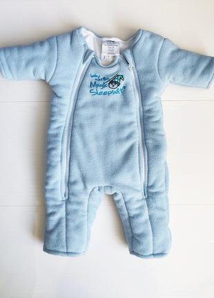 Теплый человечек magic sleep suit