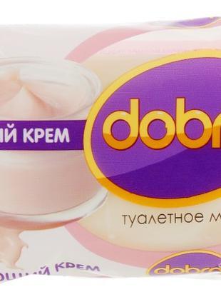 """Мыло туалетное Dobra """"Смягчающий крем"""" 60g"""