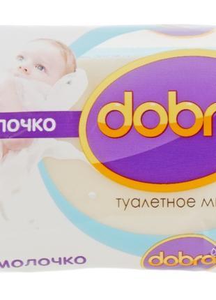 """Мыло туалетное детское Dobra """"Десткое молочко"""" 60g"""
