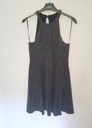 Платье miss selfridge с люрексом