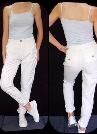 Трендовые зауженые брюки topshop