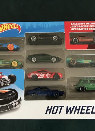 Набор машинок Hot Wheels 9 оригинал хот вилс hotwheels хотвилс