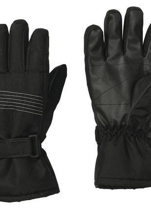 Мужские краги лыжные перчатки crivit men's ski gloves, 8.5, 9,...