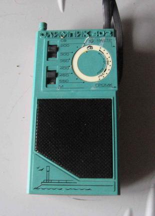 """Радиоприемник сувенирный (транзистор) """"Олимпик-402"""""""