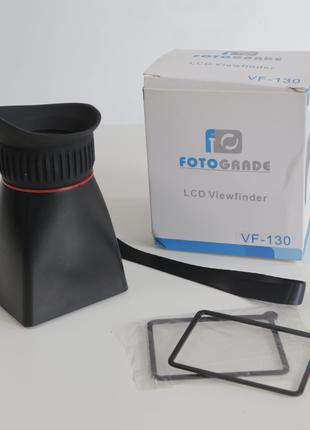 Видоискатель с резиновым наглазником LCD x2.8 VF-130 / LCD