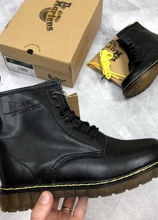 Женские \ мужские ботинки мартинс dr martens 1460 black. демис...