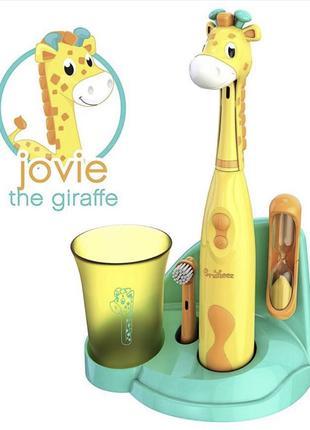 Детская зубная щетка Brusheez Jovie the giraffe