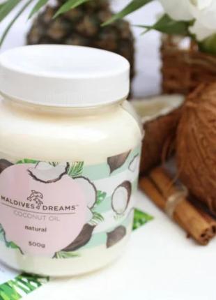 Натуральное кокосовое масло Maldives Dreams для волос и тела 5...