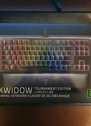 Клавиатура Razer BlackWidow TE Chroma V2 Green Switches