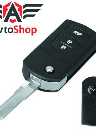 Корпус выкидного ключа зажигания Mazda 3, 5, CX7, CX9, MX5, RX 8