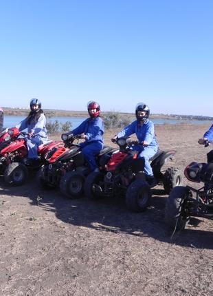 Экстремальные туры на квадроциклах в Одессе